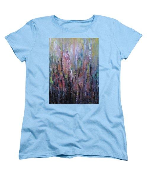 Keeping Pace Women's T-Shirt (Standard Cut) by Roberta Rotunda