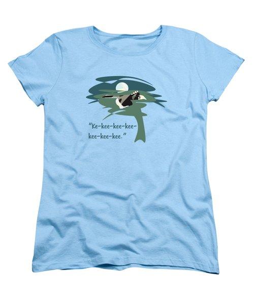 Kelingking Hornbill Women's T-Shirt (Standard Cut) by Geckojoy Gecko Books