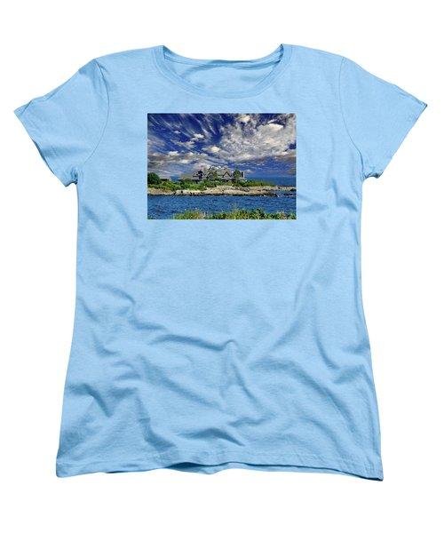 Kennebunkport, Maine - Walker's Point Women's T-Shirt (Standard Cut) by Russ Harris