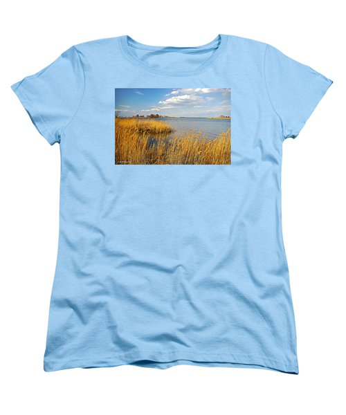 Kent Island Women's T-Shirt (Standard Cut) by Brian Wallace