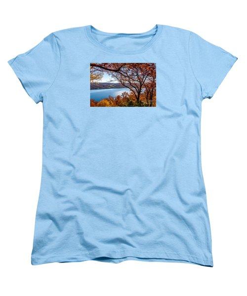 Keuka Lake Vista Women's T-Shirt (Standard Cut) by William Norton