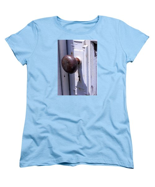 Keyhole Women's T-Shirt (Standard Cut) by Steve Godleski