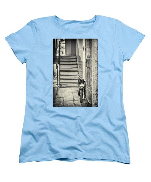 Kid's Bike Women's T-Shirt (Standard Cut) by Silvia Ganora