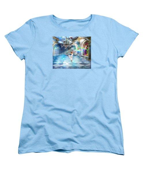 Kingdom Encounter Women's T-Shirt (Standard Cut) by Dolores Develde