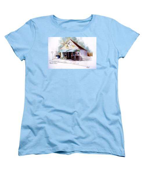 King's Ice Cream Women's T-Shirt (Standard Cut) by William Renzulli
