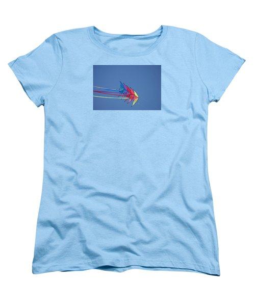 Women's T-Shirt (Standard Cut) featuring the photograph Kite by Heidi Poulin