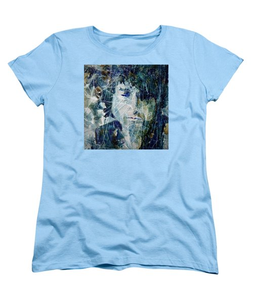 Knocking On Heaven's Door Women's T-Shirt (Standard Cut) by Paul Lovering