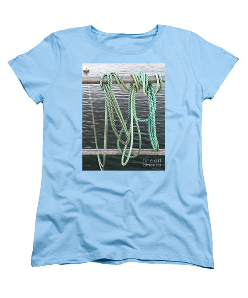 Women's T-Shirt (Standard Cut) featuring the photograph Knot Of My Warf II by Stephen Mitchell