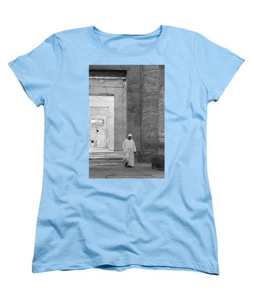 Kom Ombo Temple Women's T-Shirt (Standard Cut) by Silvia Bruno