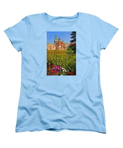 Krakow Castle Women's T-Shirt (Standard Cut) by Dennis Cox WorldViews