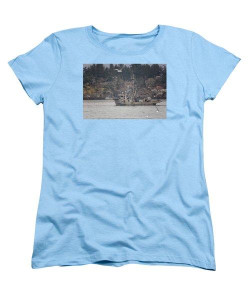Kwiaahwah Women's T-Shirt (Standard Cut) by Randy Hall