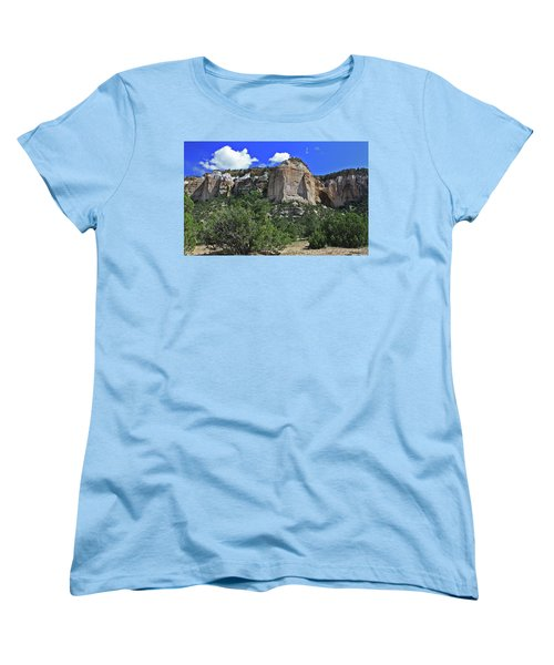 Women's T-Shirt (Standard Cut) featuring the photograph La Ventana Arch by Gary Kaylor