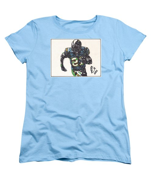Ladainian Tomlinson 1 Women's T-Shirt (Standard Cut) by Jeremiah Colley