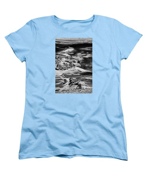 Women's T-Shirt (Standard Cut) featuring the photograph Lakagigar Iceland by Rudi Prott