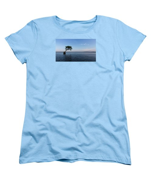 Lake Disston Cypress #2 Women's T-Shirt (Standard Cut)