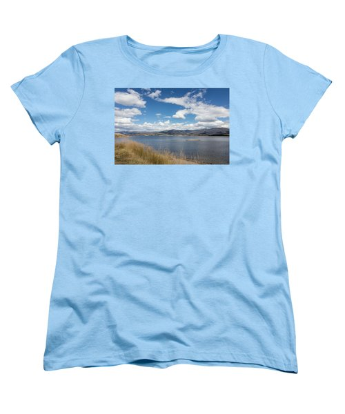 Lake Granby -- The Third-largest Body Of Water In Colorado Women's T-Shirt (Standard Cut) by Carol M Highsmith