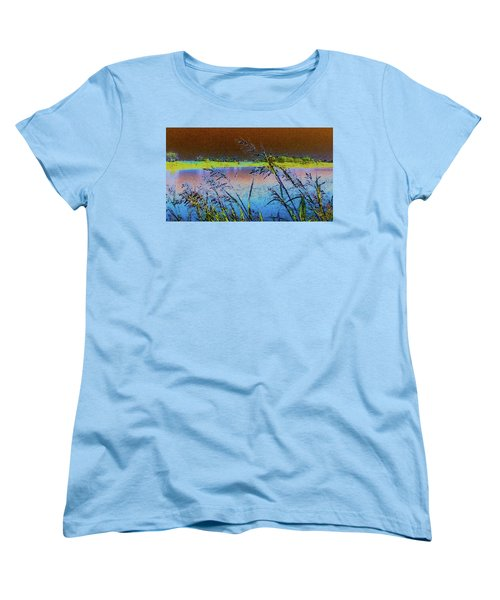 Lake II Women's T-Shirt (Standard Cut) by Donna G Smith