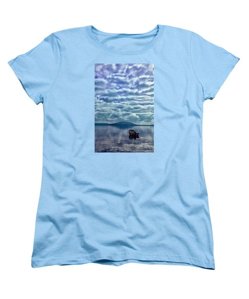 Women's T-Shirt (Standard Cut) featuring the photograph Lake Of Beauty by Rick Bragan