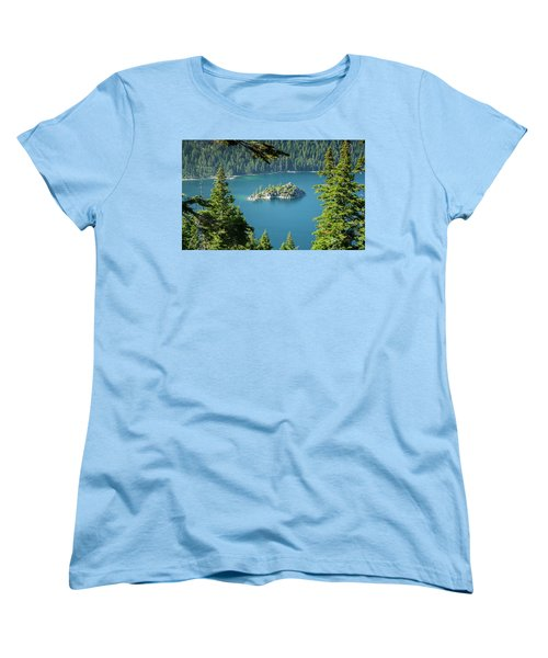 Women's T-Shirt (Standard Cut) featuring the photograph Lake Tahoe by RC Pics