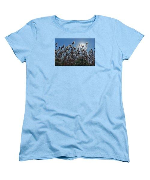 Lakeside Plants Women's T-Shirt (Standard Cut) by Mikki Cucuzzo