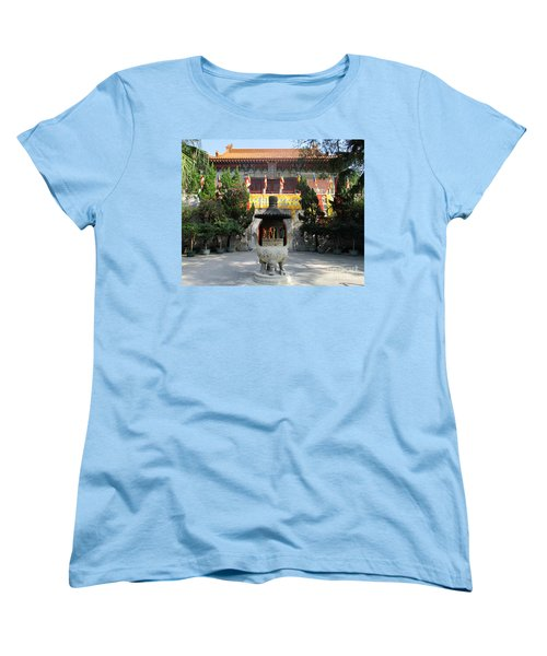 Women's T-Shirt (Standard Cut) featuring the photograph Lantau Island 45 by Randall Weidner