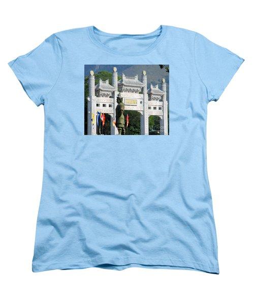 Women's T-Shirt (Standard Cut) featuring the photograph Lantau Island 51 by Randall Weidner