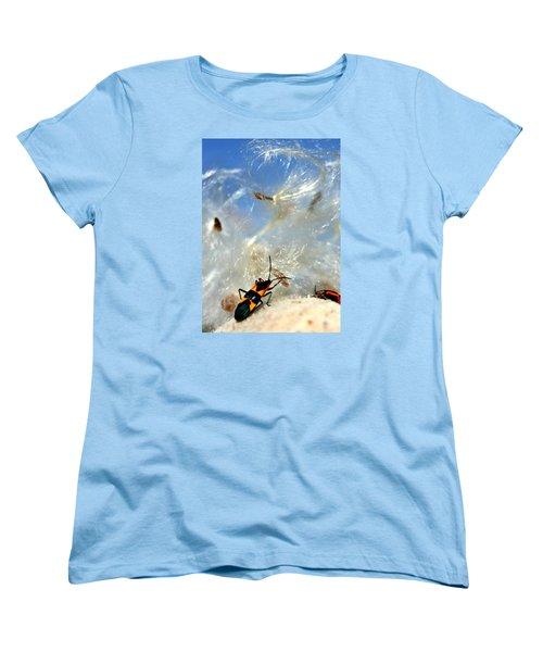 Large Milkweed Bug Women's T-Shirt (Standard Cut)