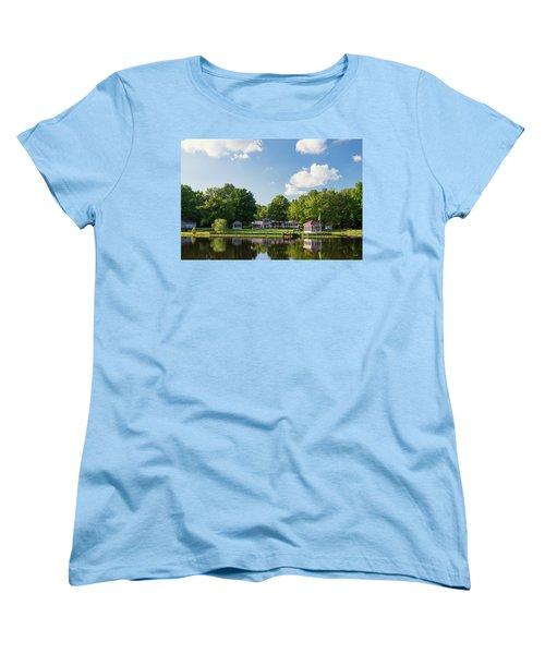 Larry Buckner - King George Women's T-Shirt (Standard Cut) by Dana Sohr