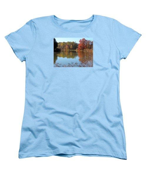 Last Colors Of Fall Women's T-Shirt (Standard Cut)