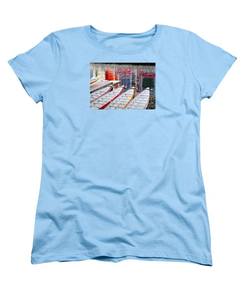 Last Of The Dragon Boats Women's T-Shirt (Standard Cut) by Chris Dutton