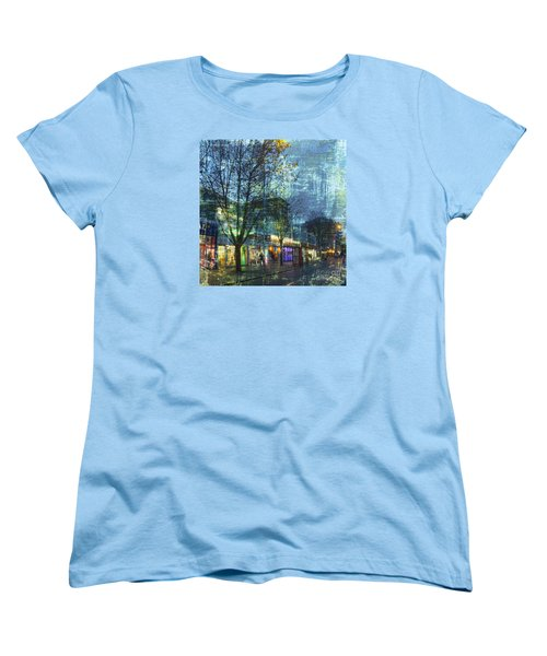Late Afternoon In Autumn Women's T-Shirt (Standard Cut) by LemonArt Photography