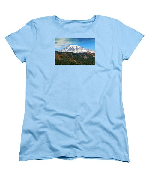 Women's T-Shirt (Standard Cut) featuring the photograph Late Afternoon by Lynn Hopwood