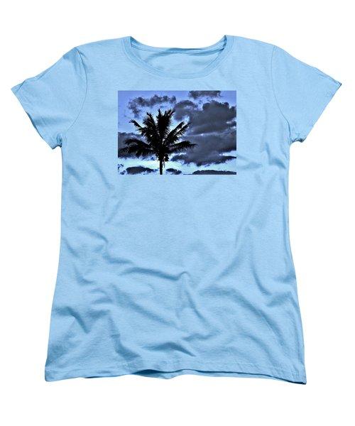 Late Day Palm Women's T-Shirt (Standard Cut) by John Wartman