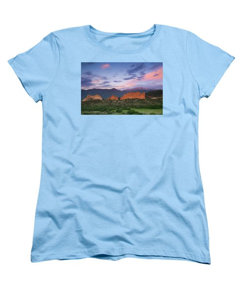 Women's T-Shirt (Standard Cut) featuring the photograph Late Spring Sunrise by Tim Reaves
