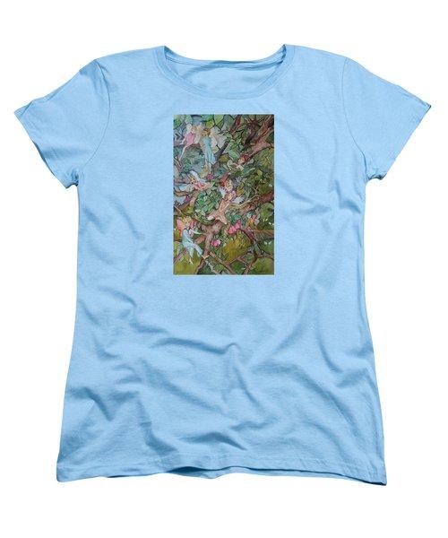Lazy Days Women's T-Shirt (Standard Cut) by Claudia Cole Meek