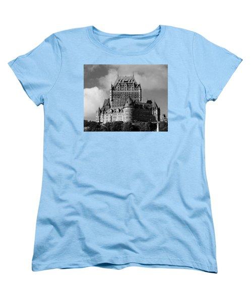 Le Chateau Frontenac - Quebec City Women's T-Shirt (Standard Cut) by Juergen Weiss