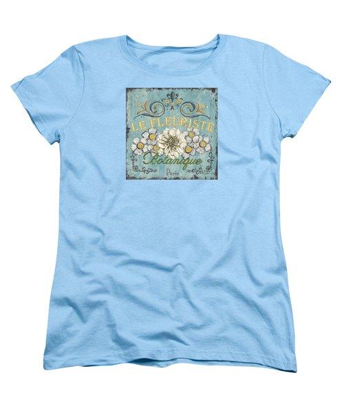 Le Fleuriste De Botanique Women's T-Shirt (Standard Cut)