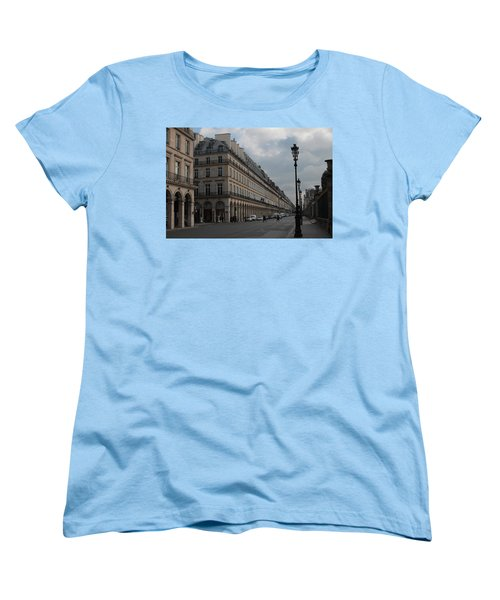 Women's T-Shirt (Standard Cut) featuring the photograph Le Meurice Hotel, Paris by Christopher Kirby