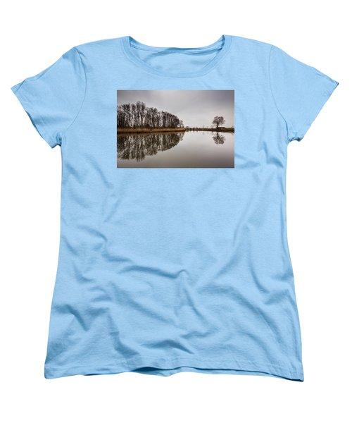 Women's T-Shirt (Standard Cut) featuring the photograph Leader by Davorin Mance