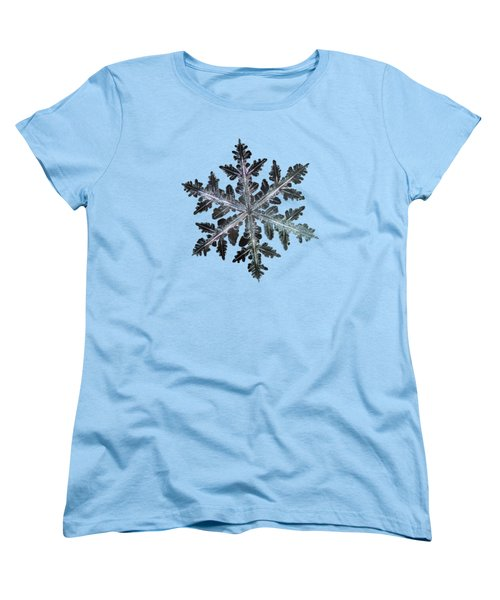 Women's T-Shirt (Standard Cut) featuring the photograph Leaves Of Ice by Alexey Kljatov