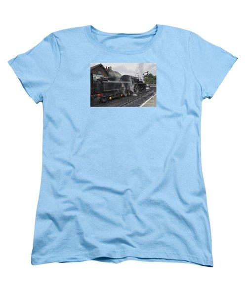 Leaving Grosmont Women's T-Shirt (Standard Cut) by David  Hollingworth