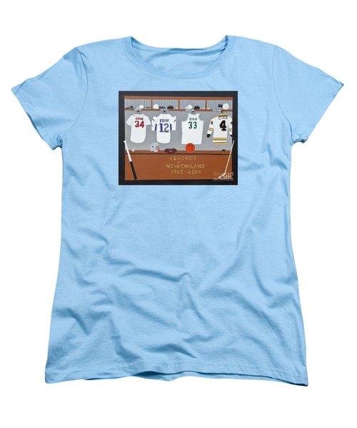 Legends Of New England Women's T-Shirt (Standard Cut) by Dennis ONeil