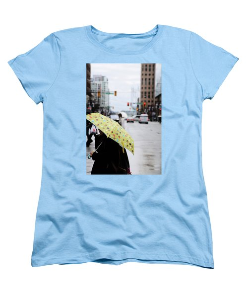 Women's T-Shirt (Standard Cut) featuring the photograph Lemons And Rubber Boots  by Empty Wall