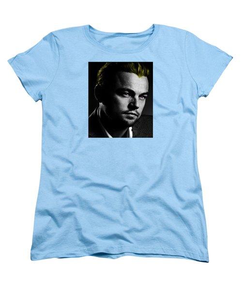 Leonardo Di Caprio Women's T-Shirt (Standard Cut) by Emme Pons