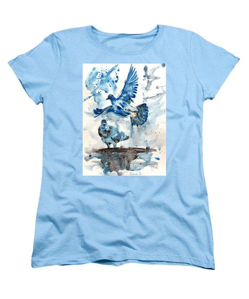 Let Me Free Women's T-Shirt (Standard Cut) by Jasna Dragun