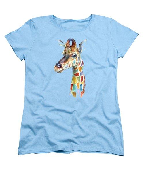 Let's Neck T-shirt Women's T-Shirt (Standard Cut) by Herb Strobino