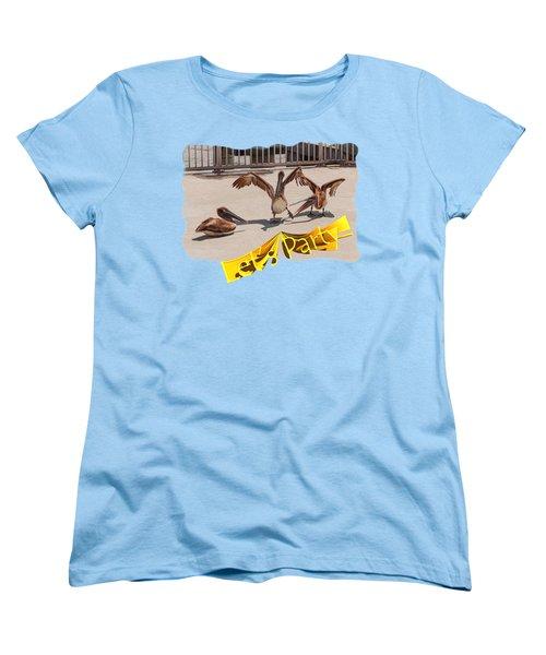Let's Party Women's T-Shirt (Standard Cut) by John M Bailey