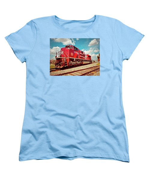 Let's Ride The Katy Women's T-Shirt (Standard Cut) by Linda Unger