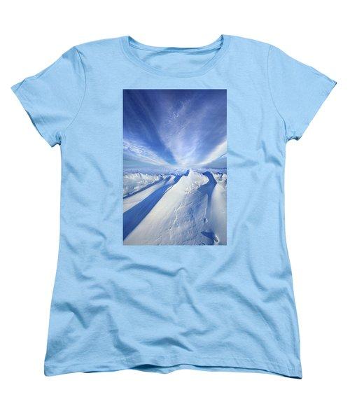 Women's T-Shirt (Standard Cut) featuring the photograph Life Below Zero by Phil Koch