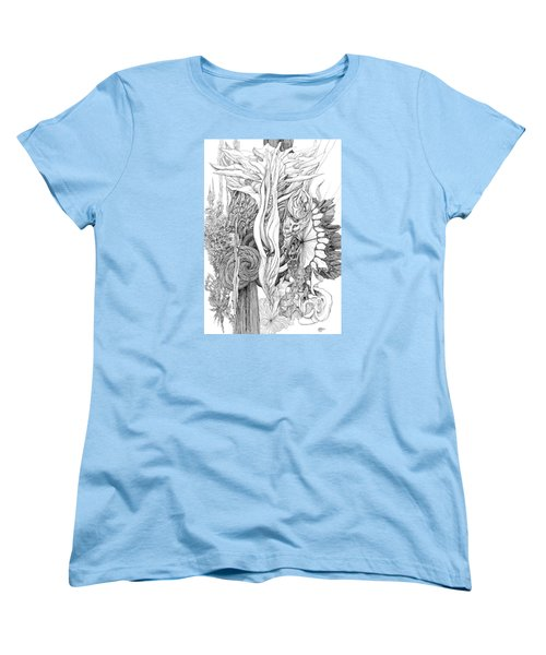Life Force Women's T-Shirt (Standard Cut) by Charles Cater